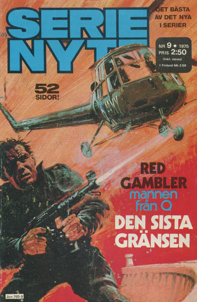 Cover for Serie-nytt [delas?] (Semic, 1970 series) #9/1975