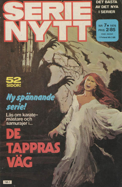 Cover for Serie-nytt [delas?] (Semic, 1970 series) #7/1976