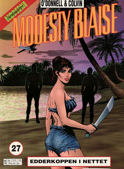 Cover for Modesty Blaise (1998 series) #27