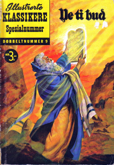 Cover for Illustrerte Klassikere Spesialnummer (1959 series) #9