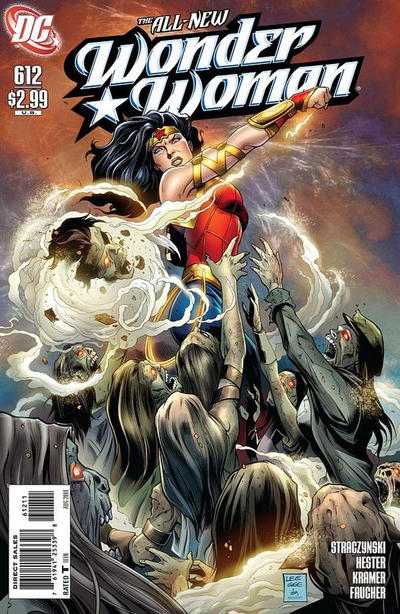 Cover for Wonder Woman (DC, 2006 series) #612 [Alex Garner Variant]