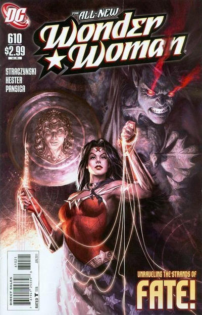 Cover for Wonder Woman (2006 series) #610