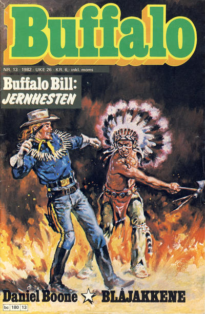 Cover for Buffalo (1982 series) #13/1982
