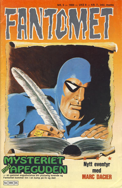 Cover for Fantomet (1976 series) #5/1984