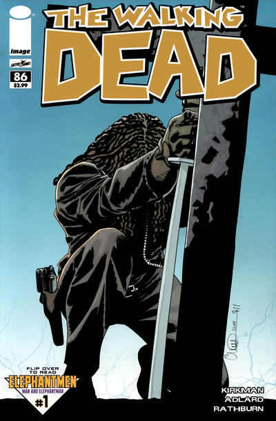 Cover for The Walking Dead (Image, 2003 series) #86