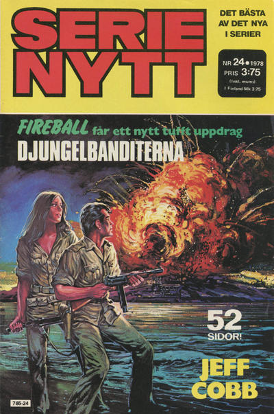 Cover for Serie-nytt [delas?] (Semic, 1970 series) #24/1978