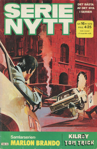 Cover for Serie-nytt [delas?] (Semic, 1970 series) #16/1979