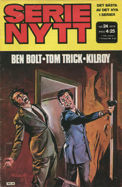 Cover for Serie-nytt [delas?] (Semic, 1970 series) #24/1979