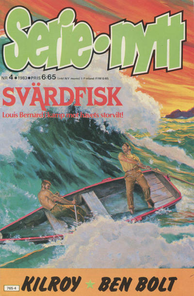 Cover for Serie-nytt [delas?] (1970 series) #4/1983