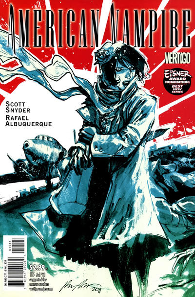 Cover for American Vampire (DC, 2010 series) #15