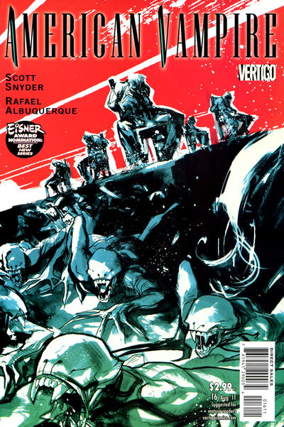 Cover for American Vampire (DC, 2010 series) #16