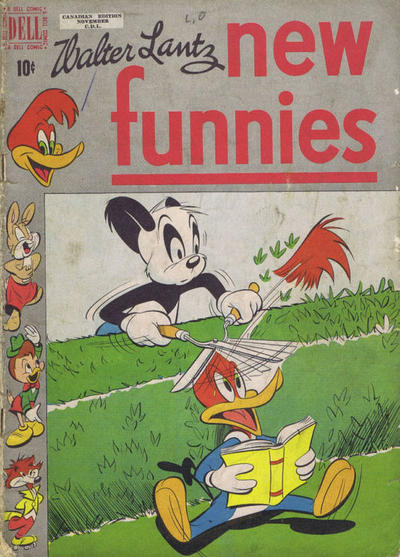 Cover for Walter Lantz New Funnies (Wilson Publishing, 1948 series) #164
