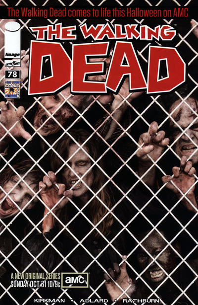 Cover for The Walking Dead (2003 series) #78