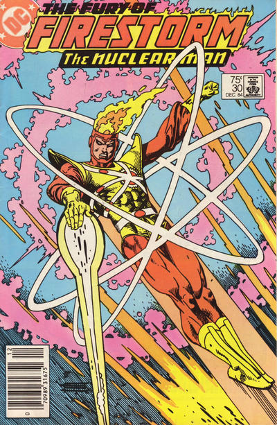 Cover for The Fury of Firestorm (1982 series) #30 [Newsstand]