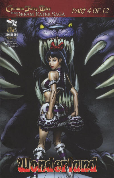 Cover for Grimm Fairy Tales: Dream Eater Saga (2011 series) #4 [Philadelphia Comic-con variant]