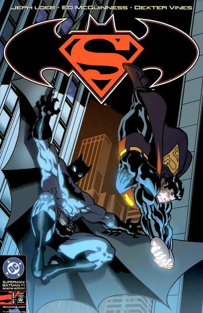 Cover for Superman / Batman (DC, 2003 series) #1 [Superman Cover]