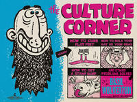 Cover Thumbnail for The Culture Corner (Fantagraphics, 2010 series)