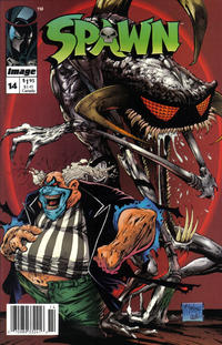 Cover Thumbnail for Spawn (Image, 1992 series) #14 [Newsstand Edition]