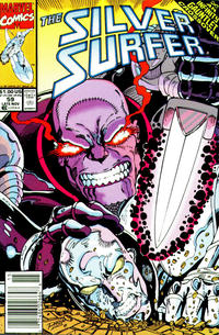 Cover Thumbnail for Silver Surfer (Marvel, 1987 series) #59 [newsstand]