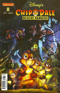 Cover Thumbnail for Chip 'n' Dale Rescue Rangers (Boom! Studios, 2010 series) #8