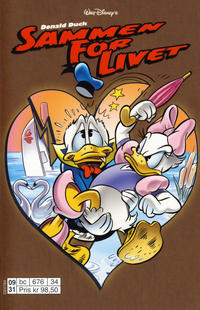 Cover Thumbnail for Donald Duck Tema pocket; Walt Disney's Tema pocket (Egmont Serieforlaget, 1997 series) #Donald Duck Sammen for livet