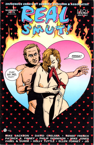 Cover for Real Smut (Fantagraphics, 1992 series) #5
