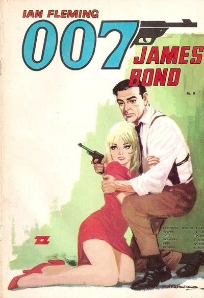 Cover for 007 James Bond (1968 series) #37