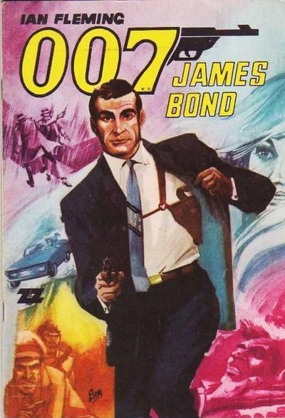 Cover for 007 James Bond (1968 series) #27