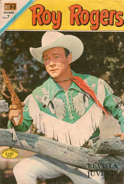Cover for Roy Rogers (Editorial Novaro, 1952 series) #210