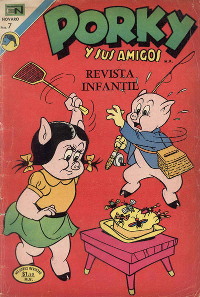 Cover for Porky y sus Amigos (Editorial Novaro, 1951 series) #300