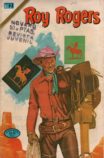 Cover for Roy Rogers (Editorial Novaro, 1952 series) #316