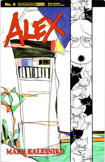 Cover for Alex (Fantagraphics, 1994 series) #6