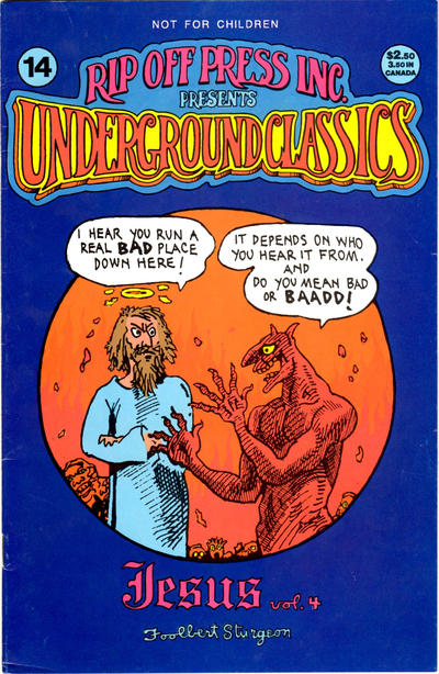 Cover for Underground Classics (Rip Off Press, 1985 series) #14
