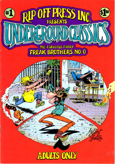 Cover for Underground Classics (1985 series) #1 [1.50 cover price (1985)]
