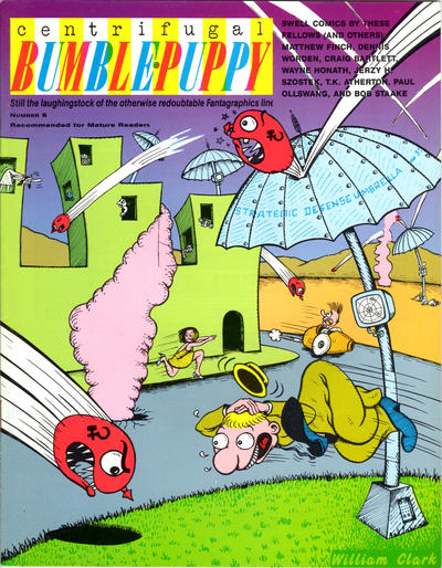 Cover for Centrifugal Bumble-Puppy (Fantagraphics, 1987 series) #6