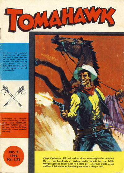 Cover for Tomahawk (Se-Bladene, 1965 series) #2/1966