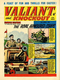 Cover Thumbnail for Valiant and Knockout (IPC, 1963 series) #13 April 1963