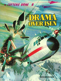 Cover Thumbnail for Luftens Ørne (Interpresse, 1971 series) #8 - Drama over isen