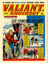 Cover Thumbnail for Valiant and Knockout (IPC, 1963 series) #1 June 1963