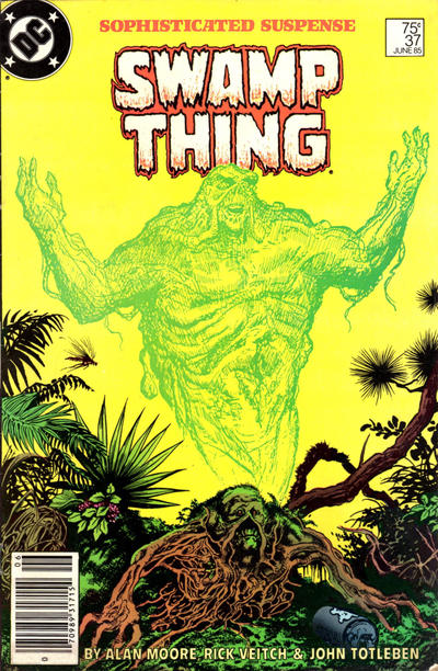 Cover for The Saga of Swamp Thing (1982 series) #37 [Direct]