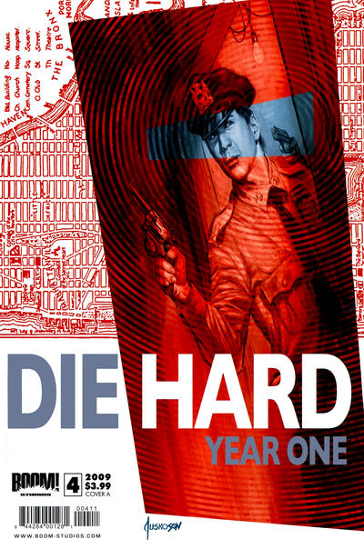 Cover for Die Hard: Year One (Boom! Studios, 2009 series) #4 [Cover B]
