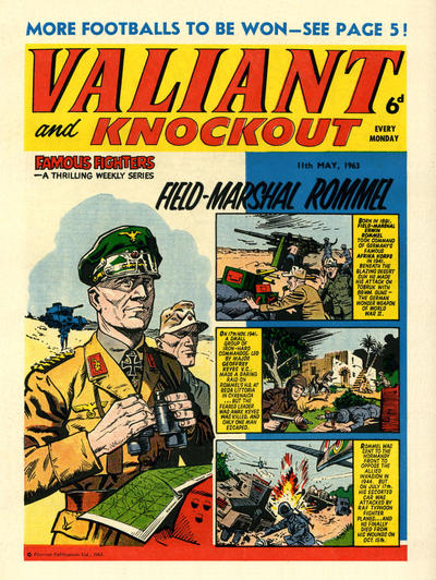 Cover for Valiant and Knockout (IPC, 1963 series) #11 May 1963