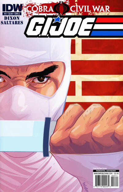 Cover for G.I. Joe (IDW, 2011 series) #3 [Cover A]