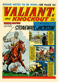 Cover Thumbnail for Valiant and Knockout (IPC, 1963 series) #20 July 1963