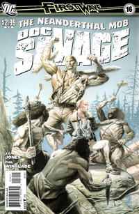 Cover for Doc Savage (DC, 2010 series) #16
