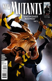 Cover Thumbnail for New Mutants (Marvel, 2009 series) #27