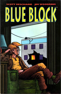 Cover Thumbnail for Blue Block (Kitchen Sink Press, 1993 series)