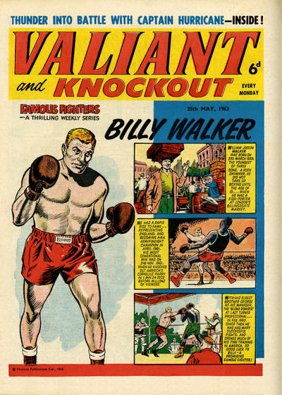 Cover for Valiant and Knockout (IPC, 1963 series) #25 May 1963
