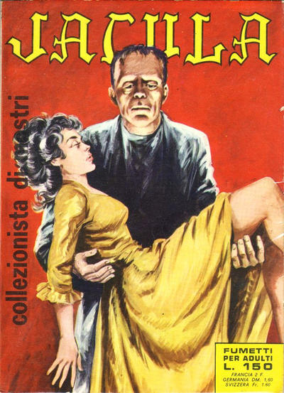 Cover for Jacula (1969 series) #8