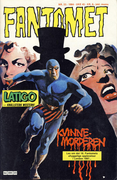 Cover for Fantomet (Semic, 1976 series) #23/1984